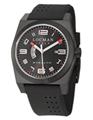 Locman Sport Stealth GMT Men's Quartz Watch 200BKBKPVBK