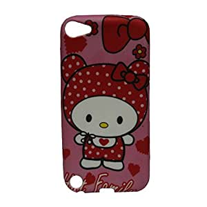 Hat Family Soft Silicone Back Case Cover For Ipod Touch 5