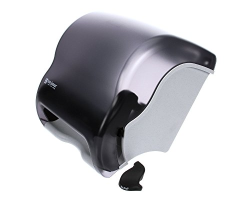 San Jamar T950Tbk Element Roll Towel Dispenser back-536312