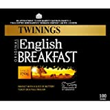 Twinings English Breakfast 100 Teabags 250g