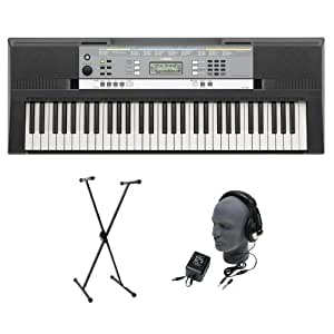 Yamaha YPT-240 61-Key Keyboard Pack with Headphones,