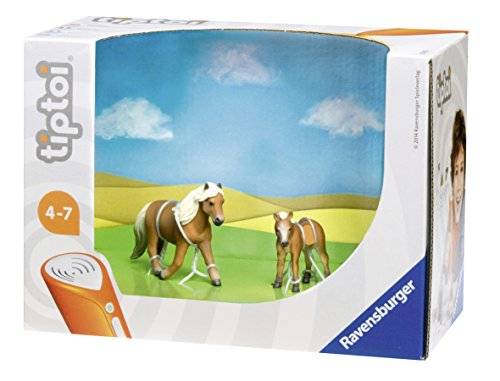 ravensburger-00391-figurine-animal-tiptoi-jument-poulain-falabella-pack-de-2