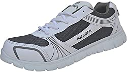 Fortuner Mens Grey Synthetic Sports And Outdoor Shoes - 6 UK