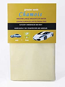 PLUS LIFE Genuine Chamois Leather Cleaning Cloth Sheepskins Car Drying Towel