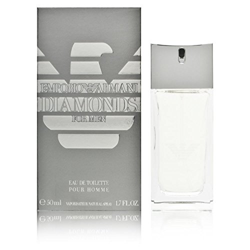 Giorgio Armani Diamonds for Men Eau de Toilette, Uomo, 50 ml