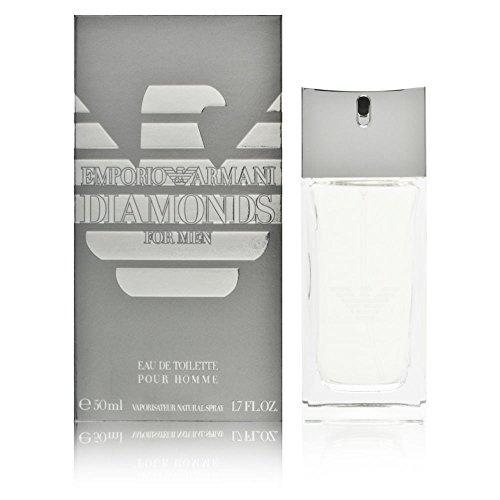 Giorgio Armani Diamonds for Men Eau de Toilette, Uomo, 50 ml