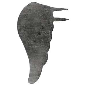 RAYHER - 56154606 - Metall-Engelsflügel, 10 cm, PVC-Box 2 Paar, silber