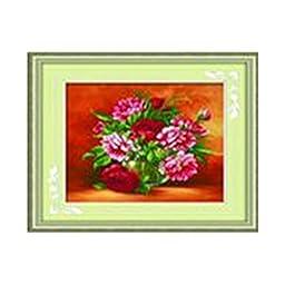 5d Diamond Painting Living Room Magic Cube Diamond Full-jewelled Diamond Stitch Blooming Vase