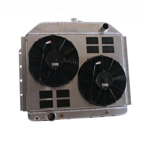Griffin Radiator Cu-70041 Combounit Radiator And Electric Fan Kit