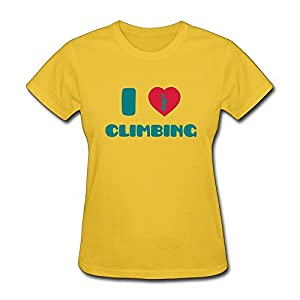 Love Climbing T-Shirts For Womens,Cool T-Shirt