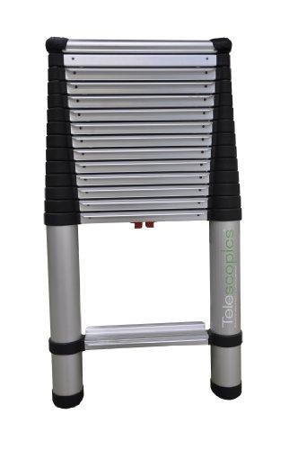 Telescoping Step Ladder : Telesteps ep osha compliant ft reach professional