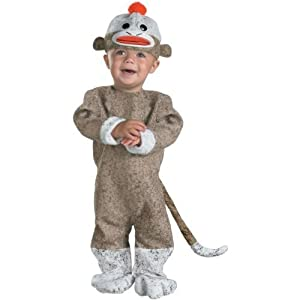 Disguise Inc All Sock Monkey Baby Costume