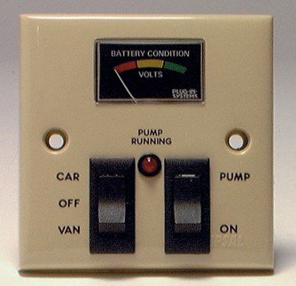 CARAVAN CAMPER ELECTRICAL DISTRIBUTION PANEL