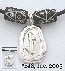 Eihwaz Rune Necklace - Elder Futhark Rune Tablet Necklaces