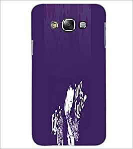 PrintDhaba Quote D-2894 Back Case Cover for SAMSUNG GALAXY A8 (Multi-Coloured)