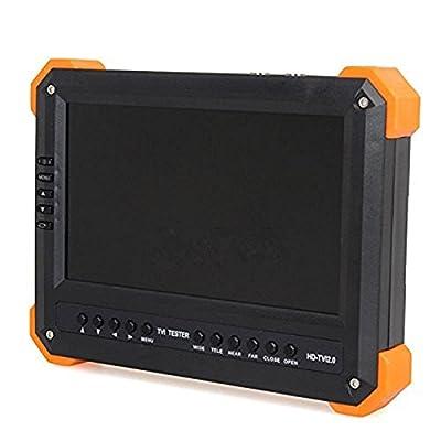 "Uphig X41T 7"" TFT LCD Monitor HD-TVI+HDMI+VGA+CVBS Camera Video Test Tester 12V-Out (US STOCK)"