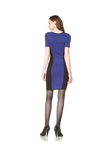 Torn by Ronny Kobo Women's Caterina Combo Pointelle Dress