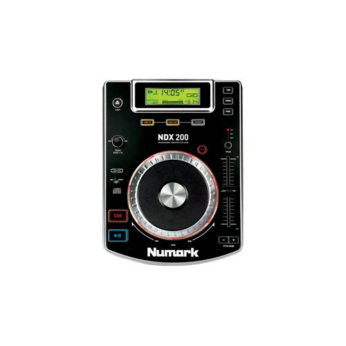 Great Features Of Numark NDX200 Tabletop CD Player