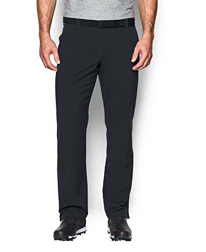 Under Armour Men's Match Play Golf Pants - Straight Leg, Black (001), 38/32