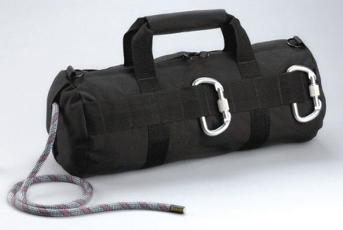 Black Stealth Rappelling Climbing Rope Gear Bag