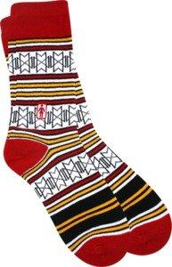 Girl Futuro Red Socks