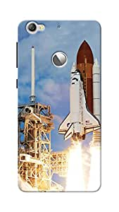 Unicraft Back Cover for LeEco Le 1S (3D Printed Multicolor)
