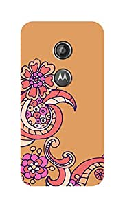 SWAG my CASE Printed Back Cover for Motorola Moto E (2nd Gen)