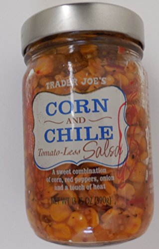 Trader Joes Corn and Chile Tomato-less Salsa 2/pack (Trader Joes Corn Salsa compare prices)