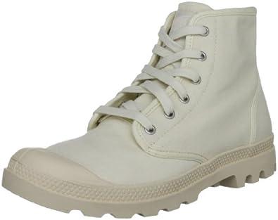 Palladium Men's Pampa Hi Ecru Lace Up Boot 02352-118-M 7 UK