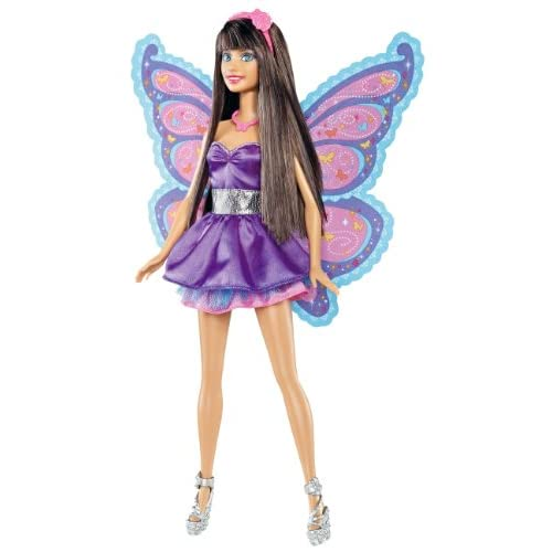 Amazon.com: Barbie A Fairy Secret Raquelle Doll