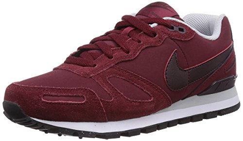 Nike Air Waffle Trainer Leather, Unisex-Erwachsene Sneakers, Rot (Tm Rd/Dp Brgndy-Pr Pltnm-White), 47.5