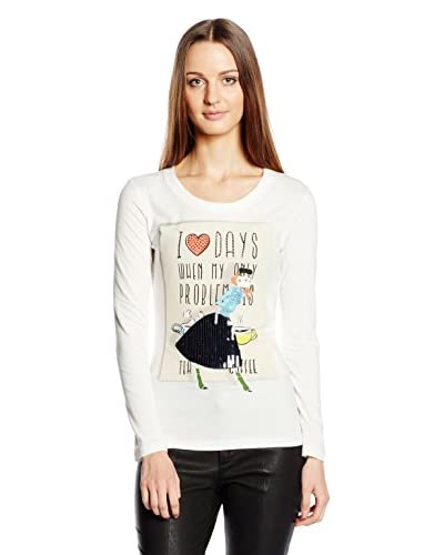 Love Moschino Camiseta Manga Larga