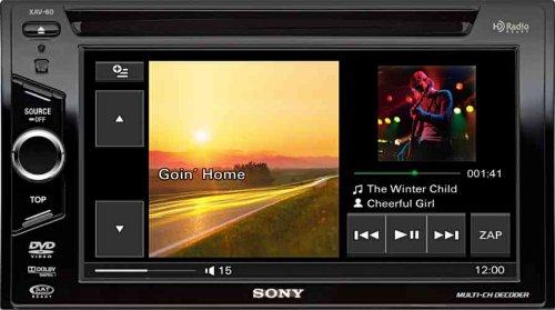 "Sony XAV-60 6.1"" inch In-Dash Touchscreen DVD/CD/MP3 Receiver"