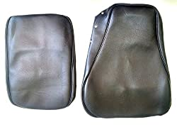 High Quality Leatherette Black Seat Cover Set for Royal Enfield Classic Motorcycle