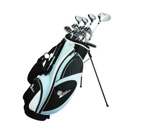 Palm Springs Golf Visa Lady All Graphite Hybrid Club Set & Stand Bag front-43827