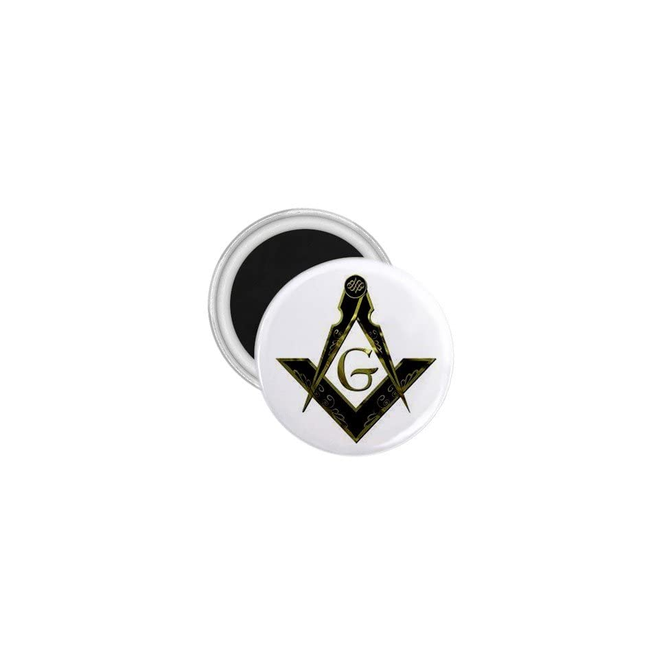 Mason Freemason Masonic Souvenir Magnet 2.25 Free
