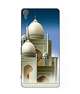 Make My Print Religion Printed Multicolor Hard Back Cover For Sony Xperia XA Ultra Dual