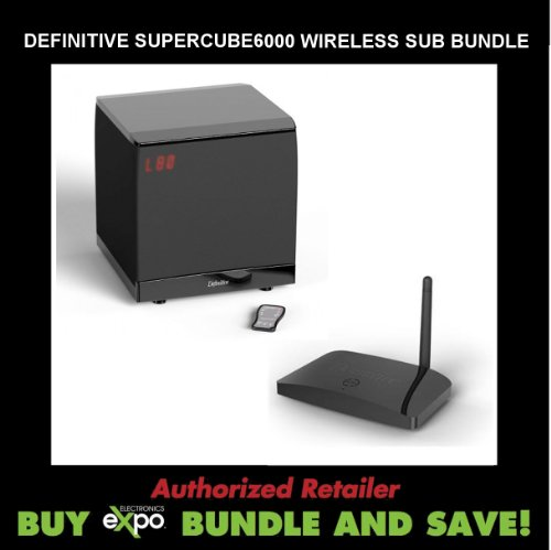 Definitive Technology Sc6000 Subwoofer, Plus Definitive Technology Scw-100 Wireless Subwoofer Connectivity Kit