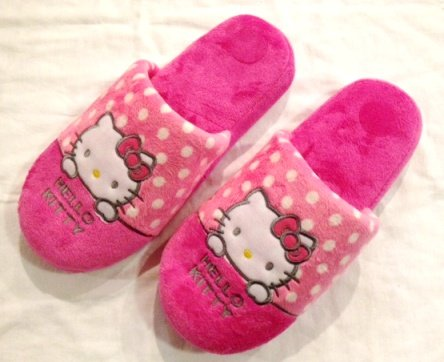 Cheap Sanrio Hello Kitty Pink Indoor Slipper – Universal size up to 9.5″ long (B007KWTSU4)