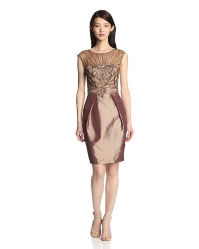 Sue Wong Women's Embellished Cocktail Dress