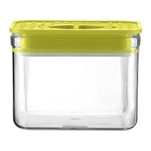 Bodum 11050-565 Bistro Bocal en Verre Carré 0,5 L Vert Citron