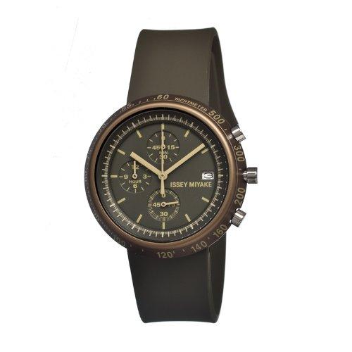 Issey Miyake Silaz008 purpurar reloj de los hombres
