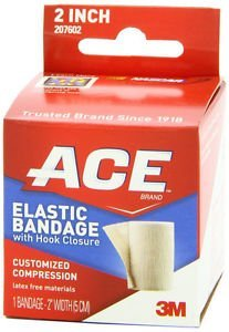 ACE Elastic Bandage (velcro closure) 2 Inches 1 Each (Ace Bandage Wrist compare prices)