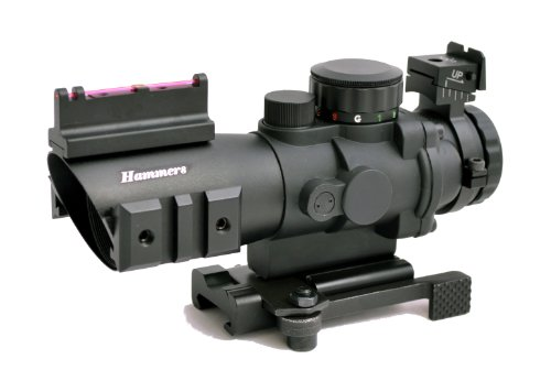 Hammers Compact Prism Rifle Scope 4x32  BDC Illuminated