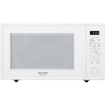 Sharp R659Yw Countertop Microwave Oven, 2.2 Cubic Feet, White front-615202