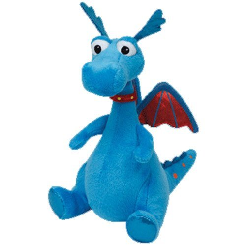 TY Beanie Baby Doc McStuffin - Stuffy the Dragon - 6 Inch