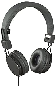 KitSound Malibu Compact Foldable On-Ear Headphones with In
