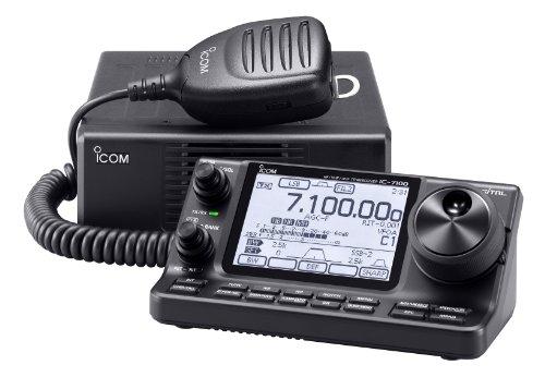 Icom Ic-7100 Hf/50/144/440 Mhz Amateur Radio Mobile Transceiver D-Star Capable W/ Touch Screen - Original Icom Usa Model