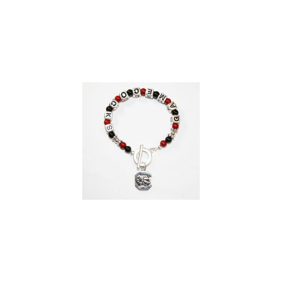 University of South Carolina Gamecocks Charm Bracelet