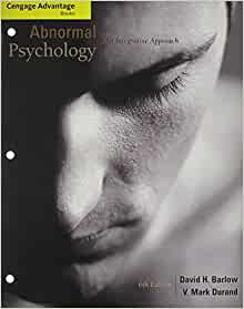 Psychology approach integrative abnormal edition 6th an pdf
